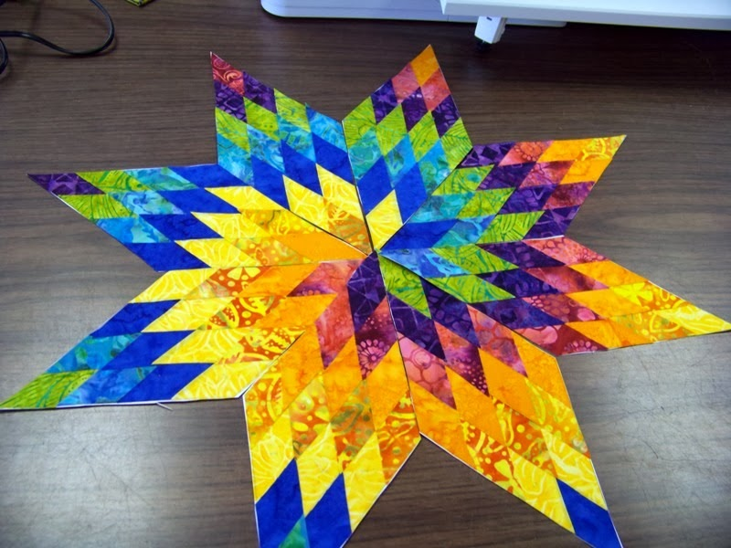 Attic Window Quilt Shop: YOU CAN MAKE THIS LONE STAR : how to make a star quilt - Adamdwight.com