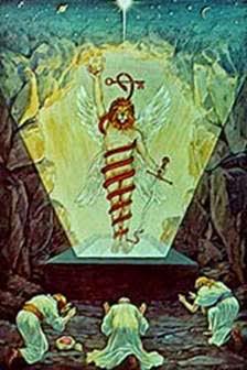 Mitra en Forma del Cronos con Cabeza de León