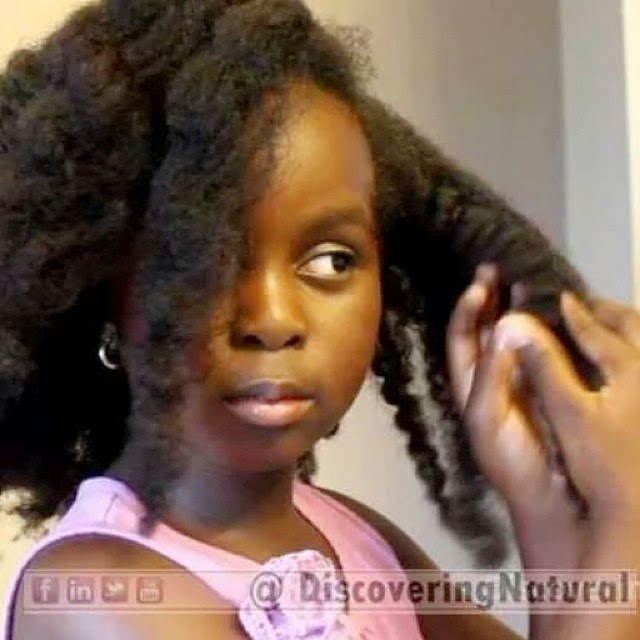 How to Detangle Your Child's Natural Hair