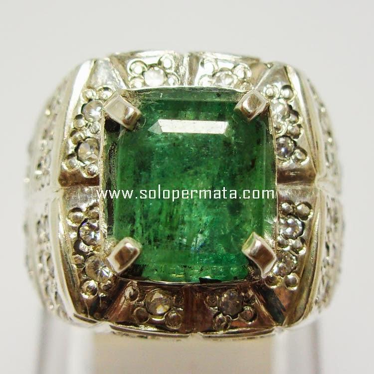 Batu Permata Zamrud Emerald Beryl - Sp014