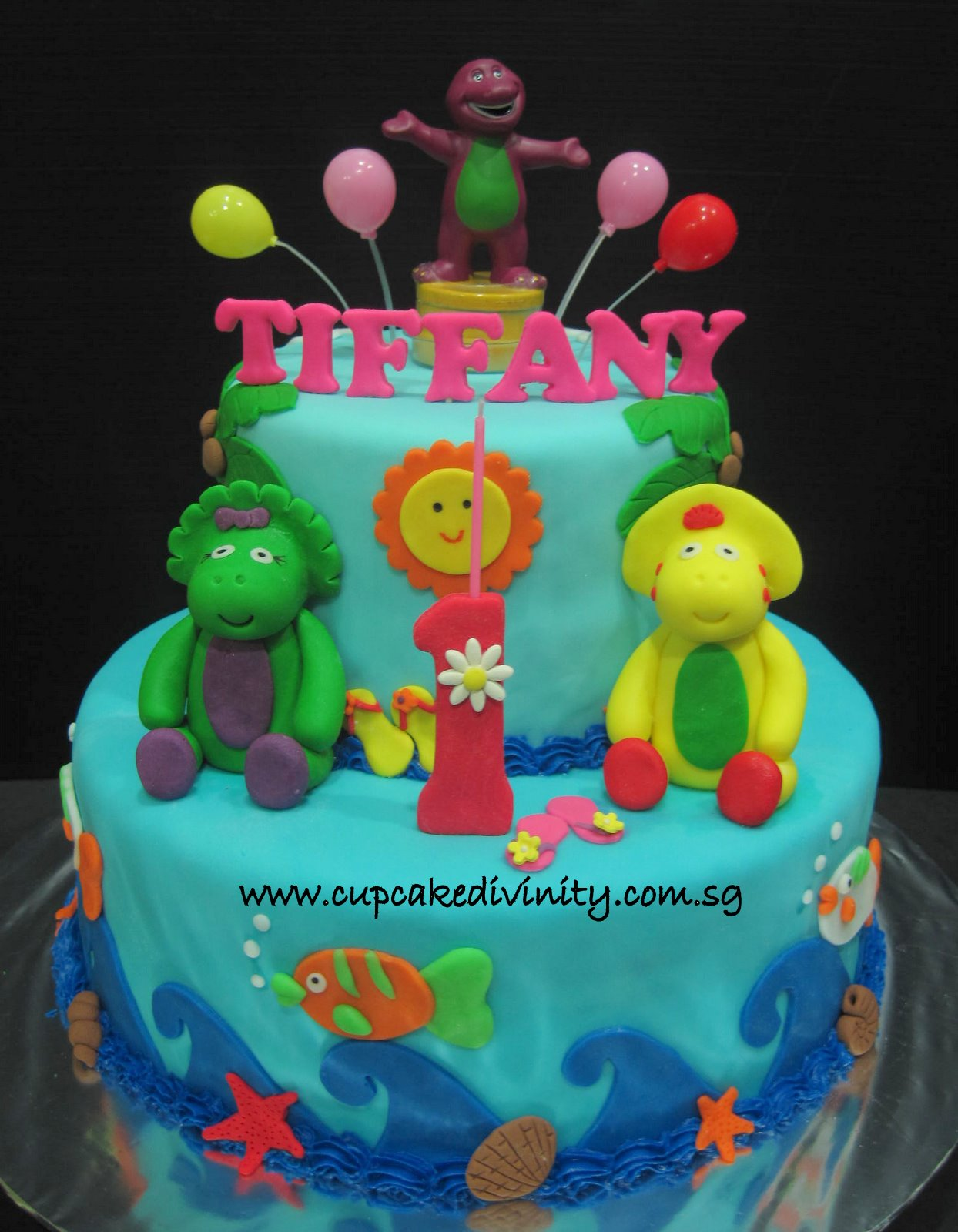 barney cake - photo #20