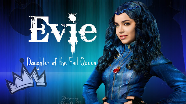 Evie Sofia Carson Descendientes