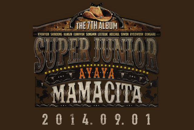 Super Junior - MAMACITA Vol. 7 Album 2014