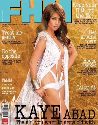 Kaye Abad Sexy in Yellow Exotic Pinay Beauties