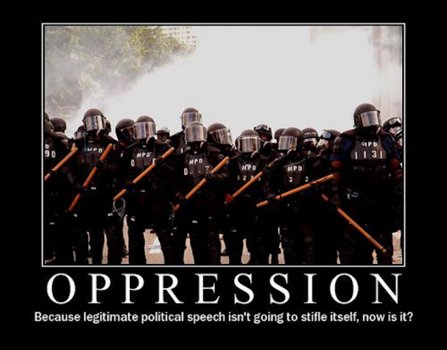 revolution is the antithesis to oppression