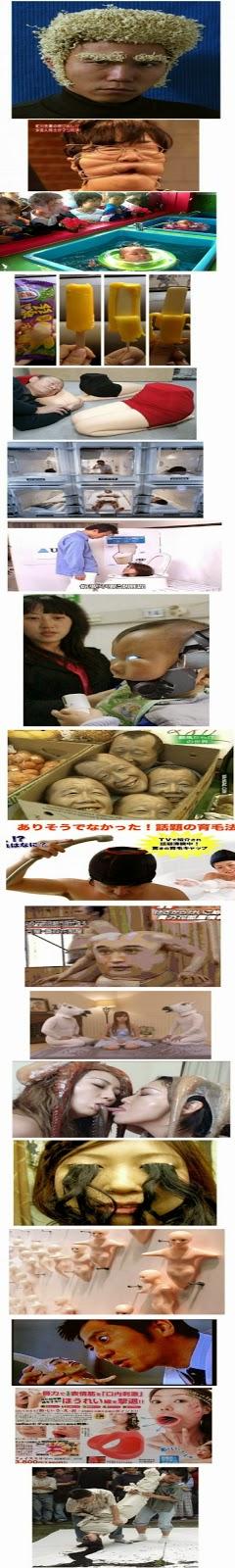 Japão: Produzindo coisas estranhas desde... sempre