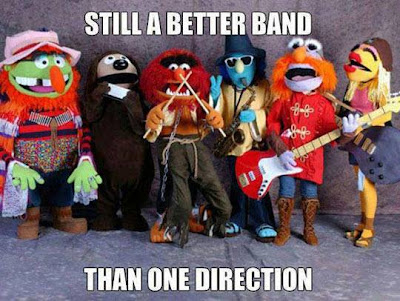 Muppet Band, still a better band than One Direction.