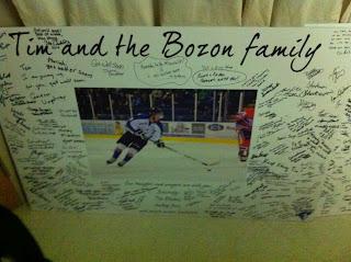 WHL: Tim Bozon's Mother Says 'merci' To Blades