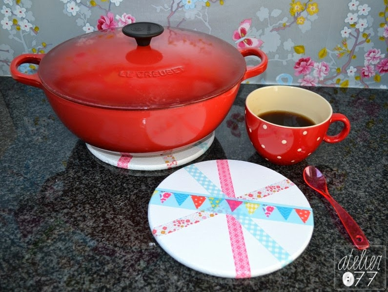 washi tape pannen onderzetter pot holder
