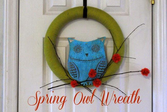 http://www.gingerlymade.com/2015/01/spring-owl-wreath.html