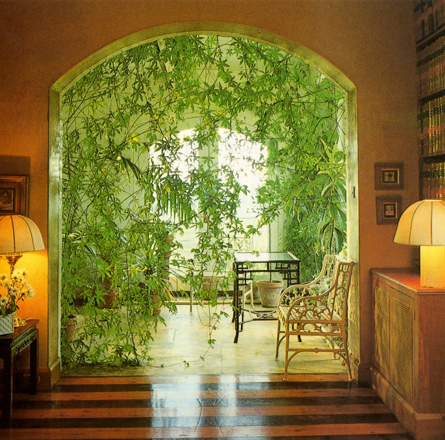 Moon to moon book terence conran decorating wth plants for Interior designs with plants