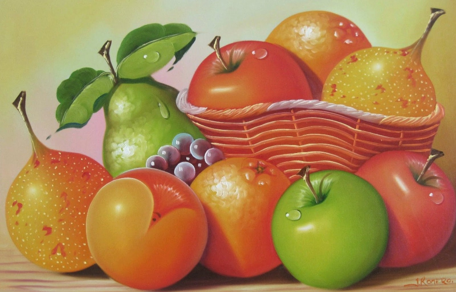 cuadros de frutas para comedor imagui