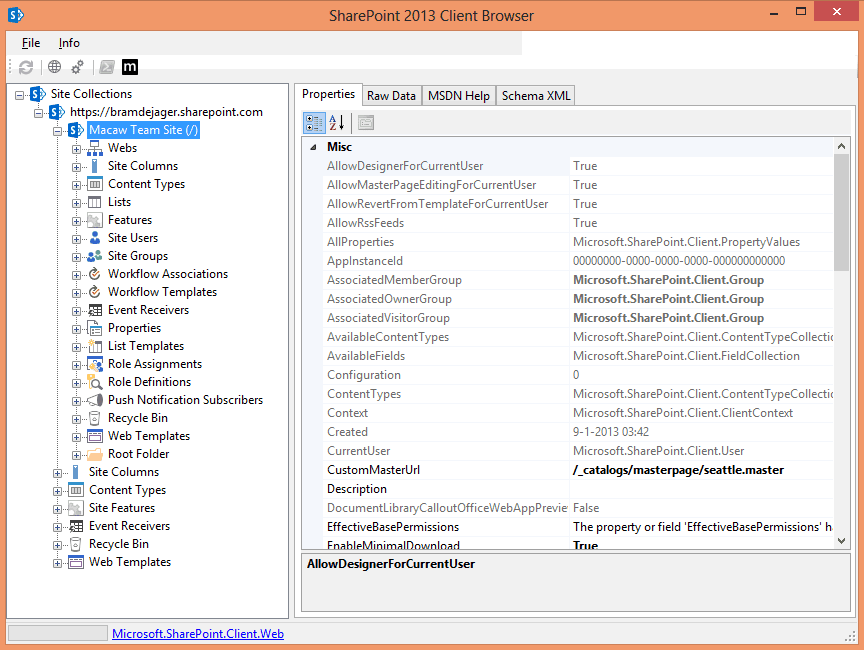 CodePlex - SharePoint 2013 Client Browser | SharePoint Home - Tips ...