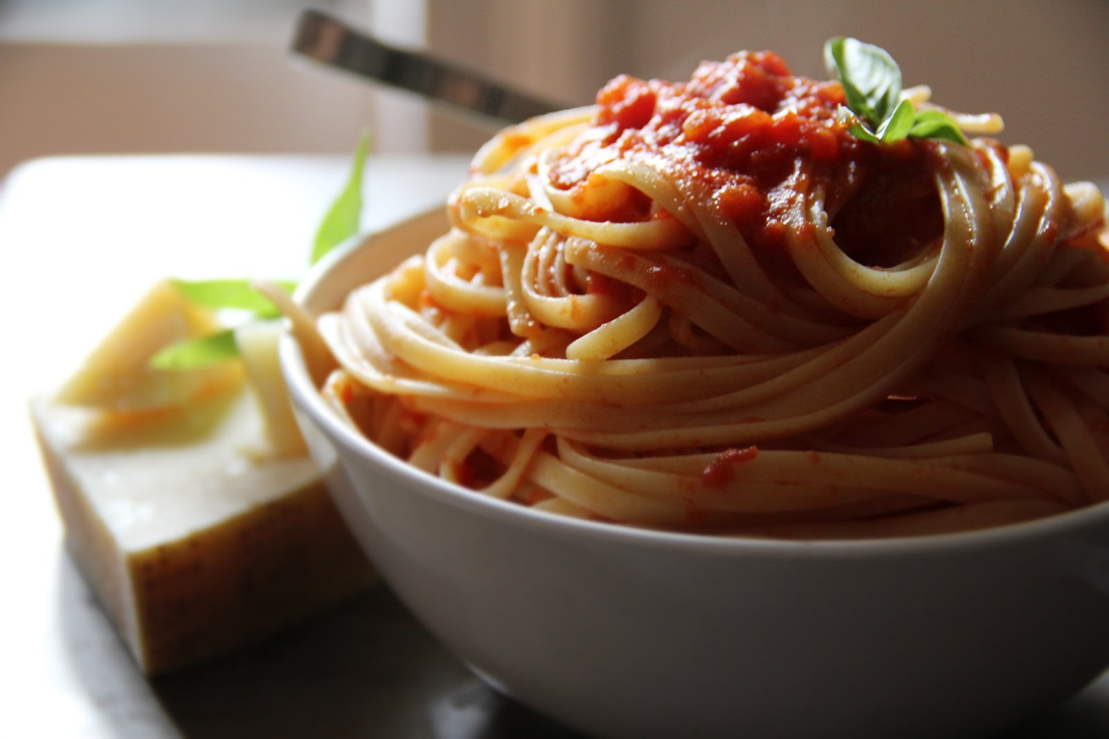 Adapted from Marcella Hazan's Tomato Sauce with Onion and Butter from ...