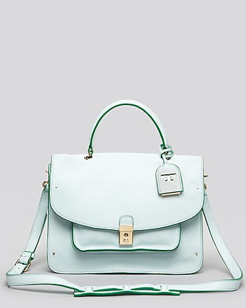 10 Best Top-Handle Bags For Summer 2013: Tory Burch Satchel - Priscilla Top Handle