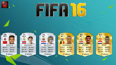 Rating predictions FIFA 16 Ultimate Team Mastour Odegaard Halilovic Tielemans Kovacic Depay