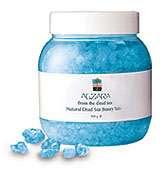 أسرار الشفاء الموجودة في خصائص ملح البحر الميت - الزارا -فهو يعالج ، ويجعل الجلد صحيا ومنتعشا طوال