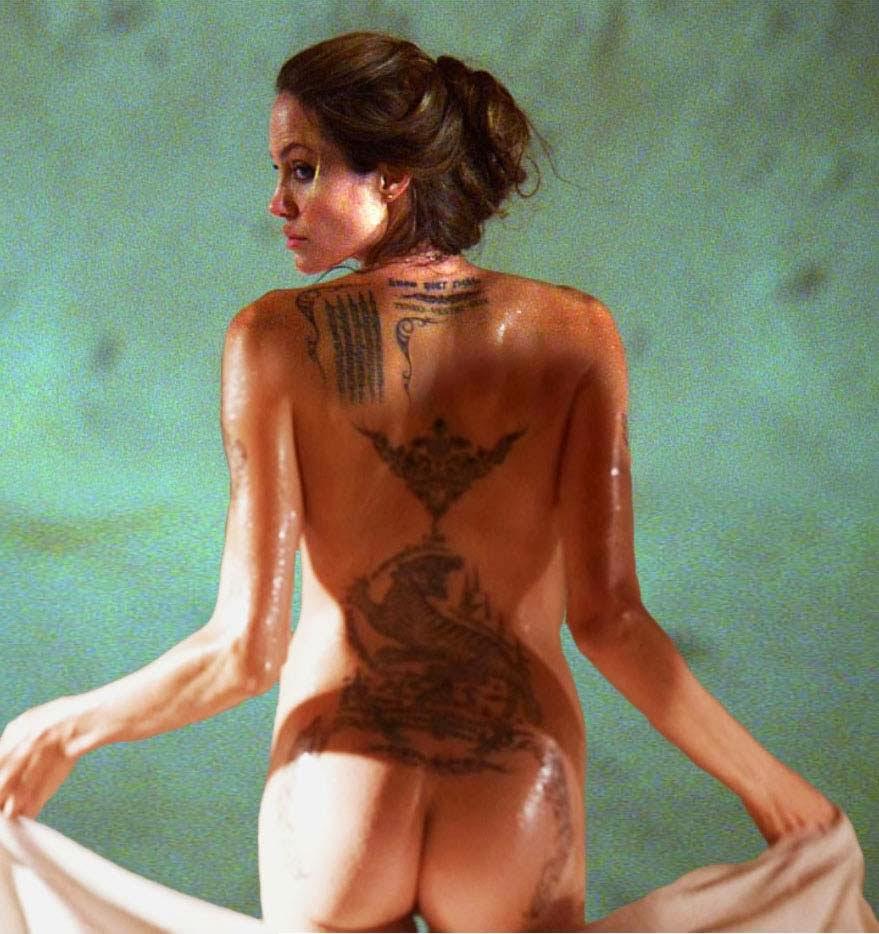 Angelina Jolies Butt 17