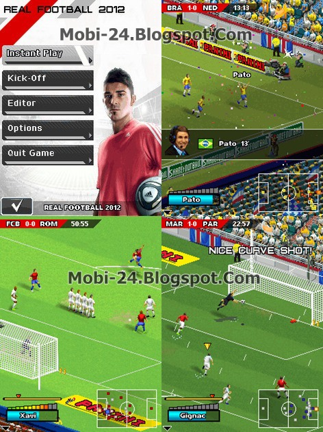 Real Football 2012 (by Gameloft)way to sms.472