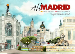 Libro de acuarelas de Madrid a la venta