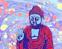 Fearless Buddha Ebru