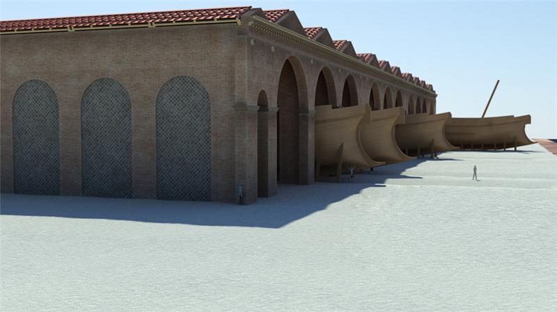 les d 233 couvertes arch 233 ologiques les arch 233 ologues pensent avoir d 233 couvert un grand chantier naval