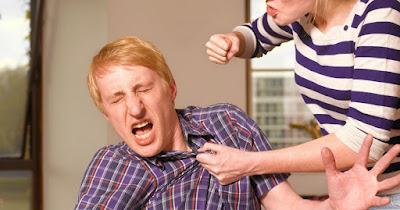 Abused men do women beat the men