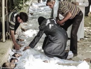 Dunia Menanti Penyerahan Daftar Senjata Kimia Suriah