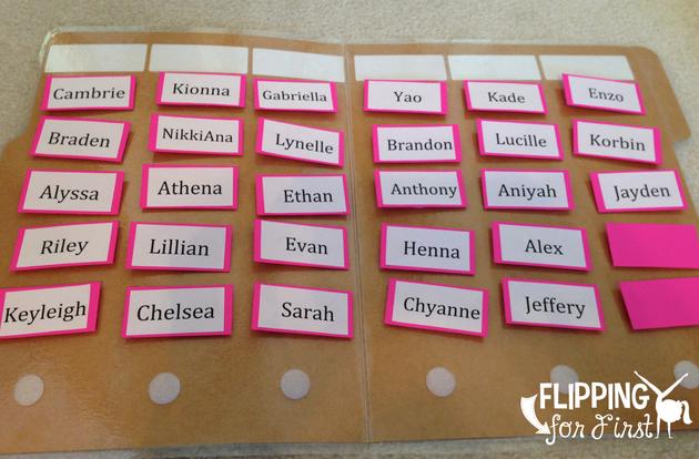 Organizing Words Their Way!