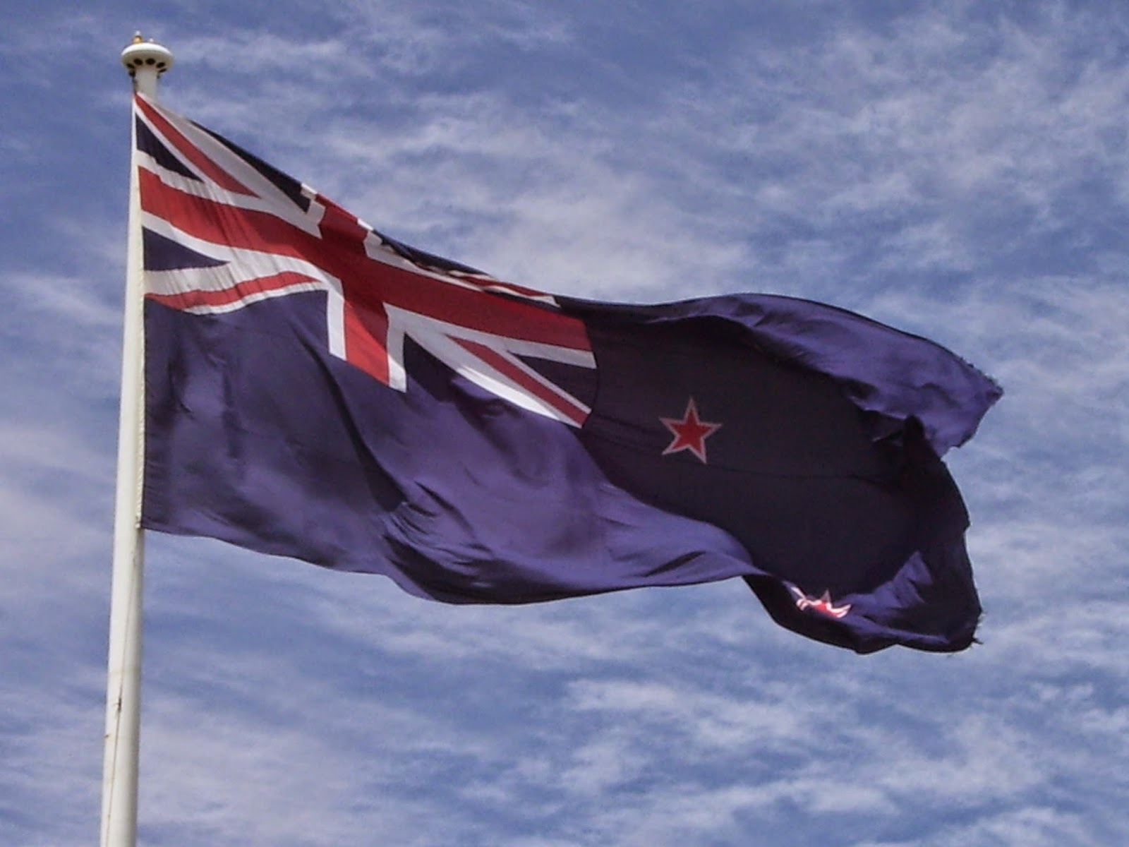 new zealand flag coloring page