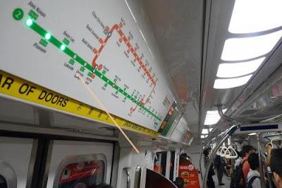 cara naik mrt singapore, cara menggunakan mrt singapore, tips mrt di singapore, peta mrt singapore, cara naik kereta di singapura