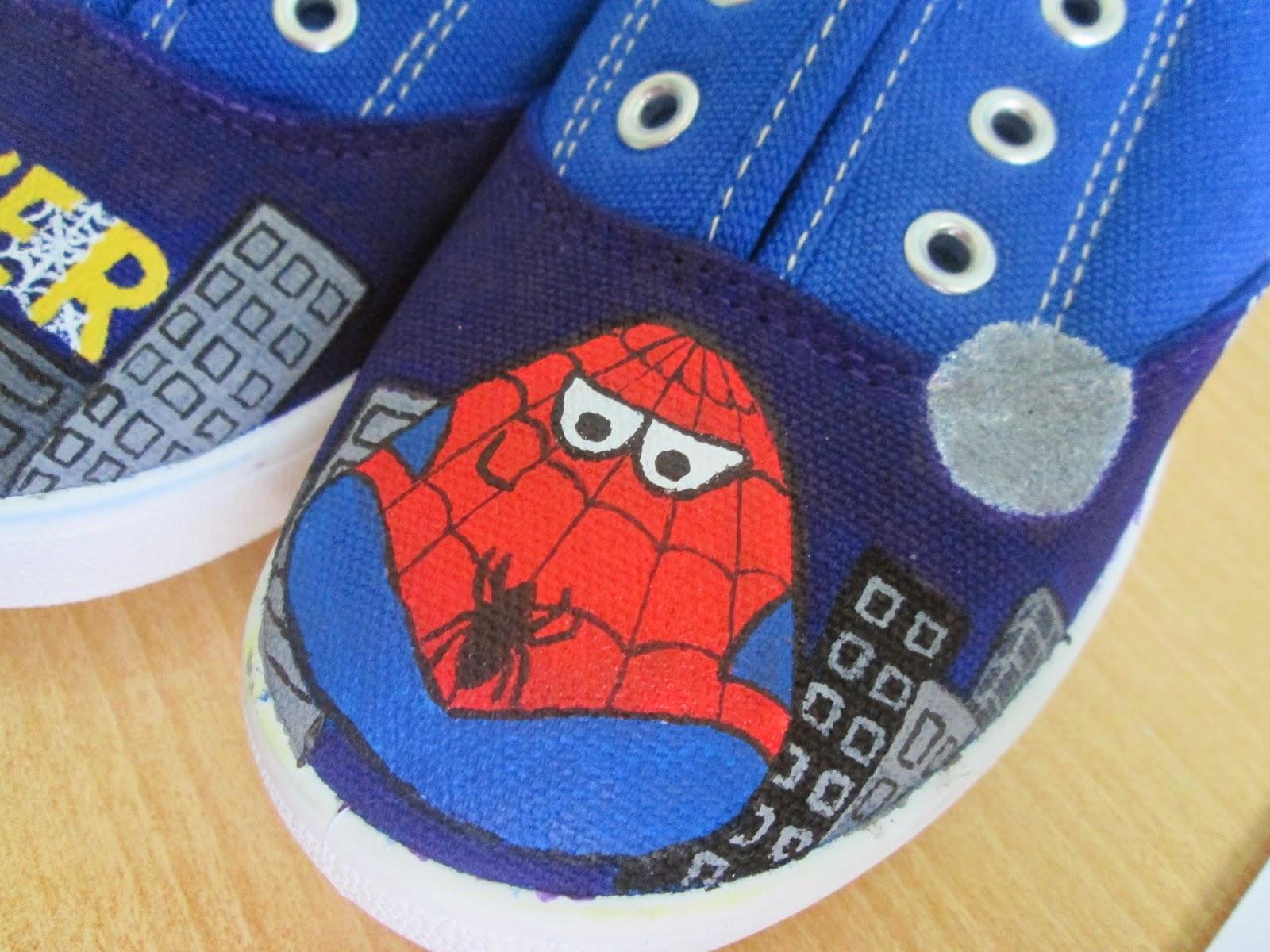 zapatillas victoria pintadas