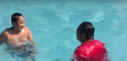 Iman can Swim Video
