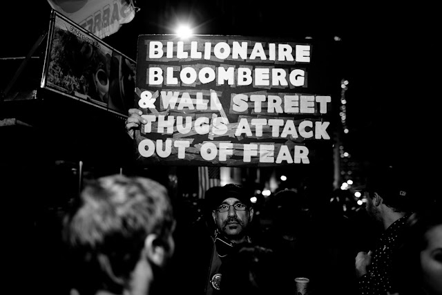 eviction day, occupy wall street, wall street, financial district, owe, money, stock exchange, 2.0, bloomberg, black and white, b&w