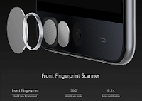 Fingureprint scanner Ulefone Be touch 2