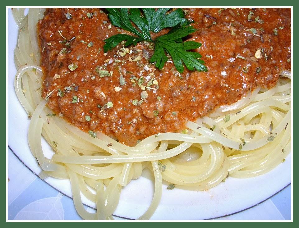 """Špagete """"Bolonjeze"""""""