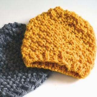 DIY easy cap (makkelijke muts)