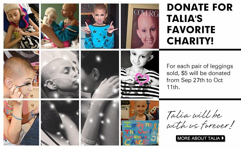 Donate For Talia's Favorite Charity @ROMWESHOP