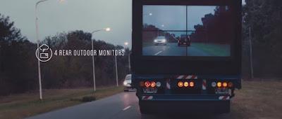 Samsung Safety Truck en funcionamiento