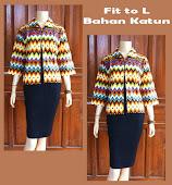 Blouse Batik DBT 4057 Harga Reseller : Rp 65.000,-