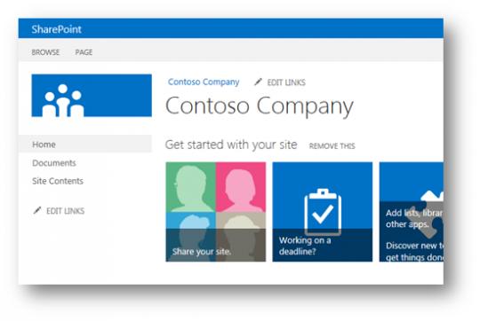 SharePoint 2013 Site Logo