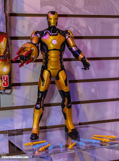 Hasbro 2013 Toy Fair Display Pictures - Iron Man 3 - Sonic Blastic Iron Man
