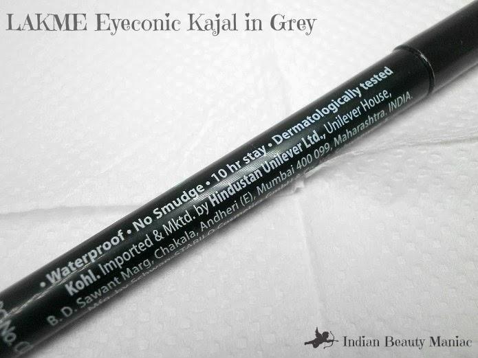 Lakme eyconic kajal claims