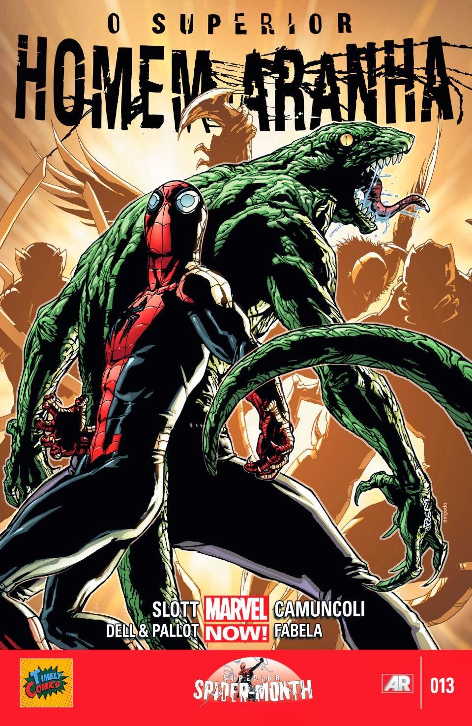 Nova Marvel! O Superior Homem-Aranha #13