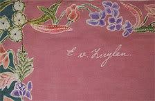 Buket (kumpulan bunga) Eliza Van Zuylen