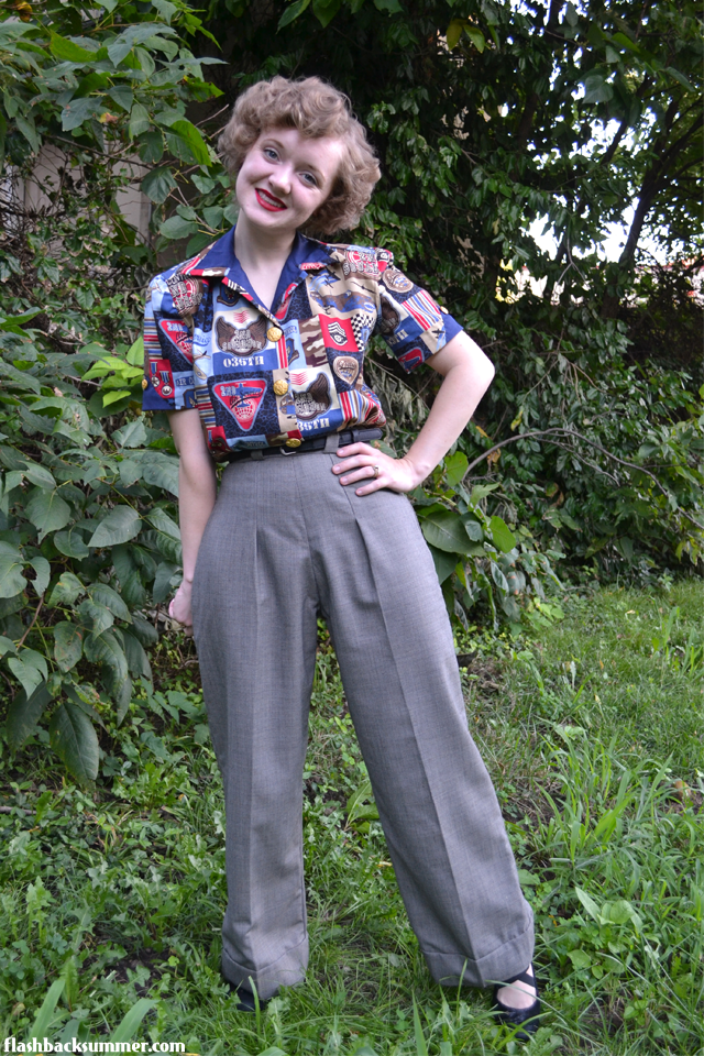Flashback Summer: 1930s Wearing History Smooth Sailing Trousers