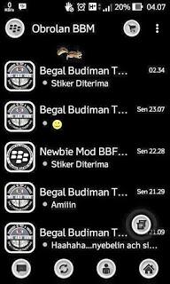 BBM MR Black Versi 2.9.0.51 Apk