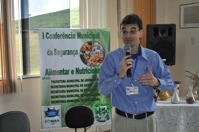 Em Jerônimo Monteiro: GESAN participa com Palestra Magna - 05/07/2011