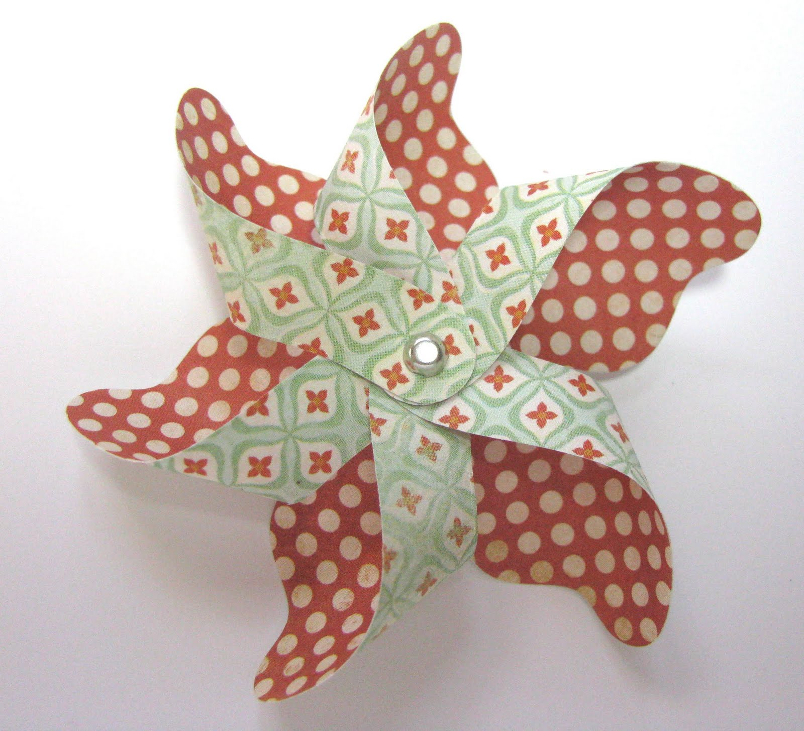 Lil Inker Designs Pinwheel Die Tutorial
