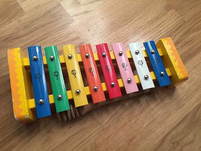 Kinder Xylofon Runzelfuesschen